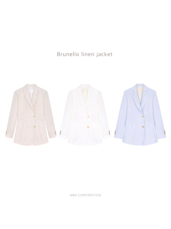 Brunello linen jacket